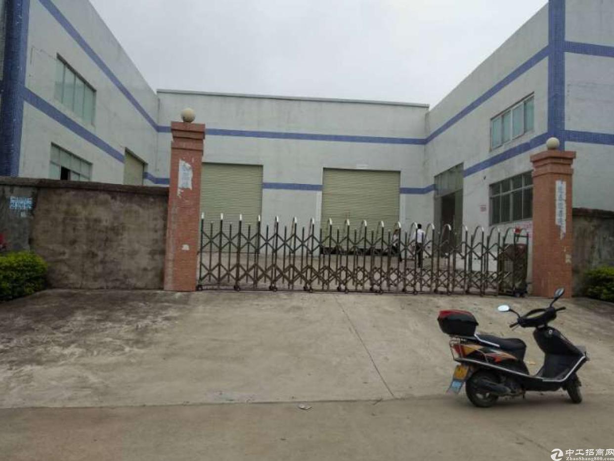 陈江镇主干道边小独院钢构滴水7米4700平方厂房出租