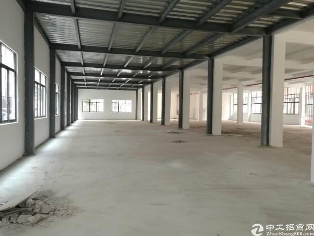 翻新厂房出租,共2500平米,高度5.5米,可做污染行业