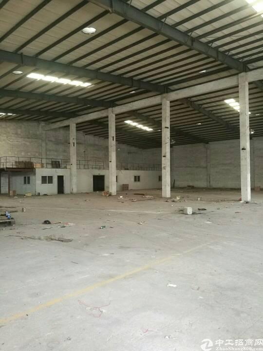 樟木头新出独门独院单一层厂房招租,面积2500平,