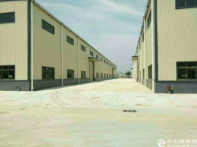 石湾镇原房东独院钢构厂房12500平方