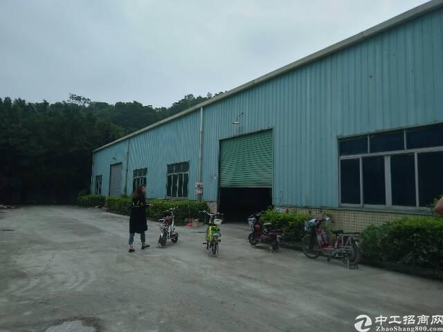 观澜环观南路旁钢结构厂房1150平米出租