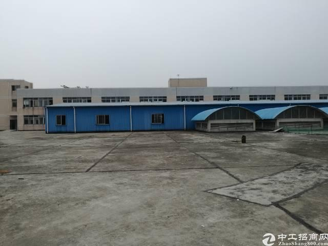 万江空地超级大单一层厂房,厂房1500平米,空地4000平米
