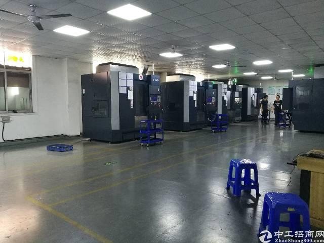 沙井后亭地铁口新出楼上800平方精装修厂房