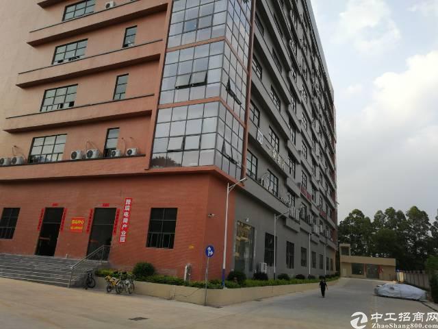 凤岗原房东全新标准厂房单层面积3500平方300平起分租