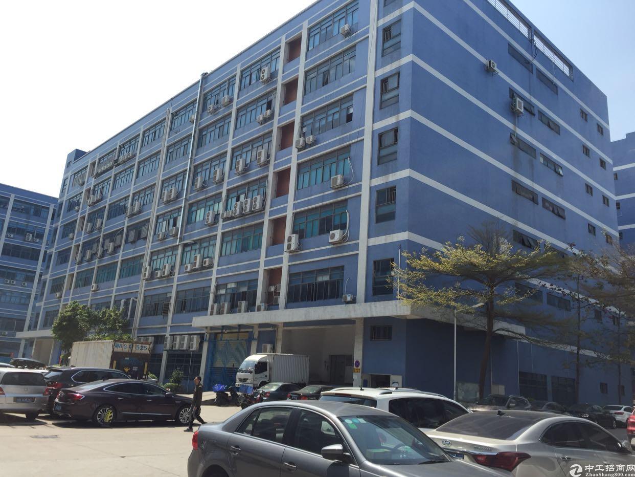 西乡固戍107国道3楼3300平厂房出租