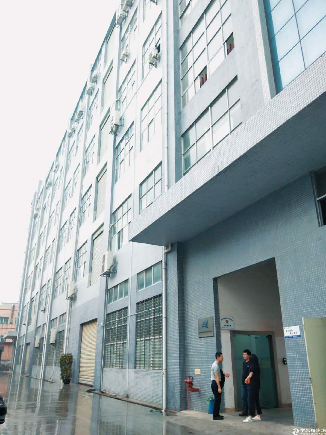 长安沙头新出楼上全新厂房2000平方