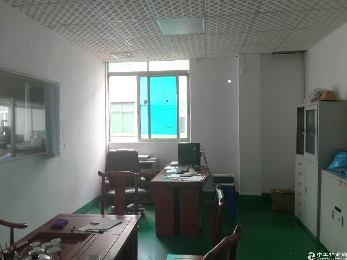 福永新田工业新出厂房3楼带装修免转让费出租
