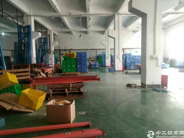 福永桥头新出一楼6米高2600平方标准厂房