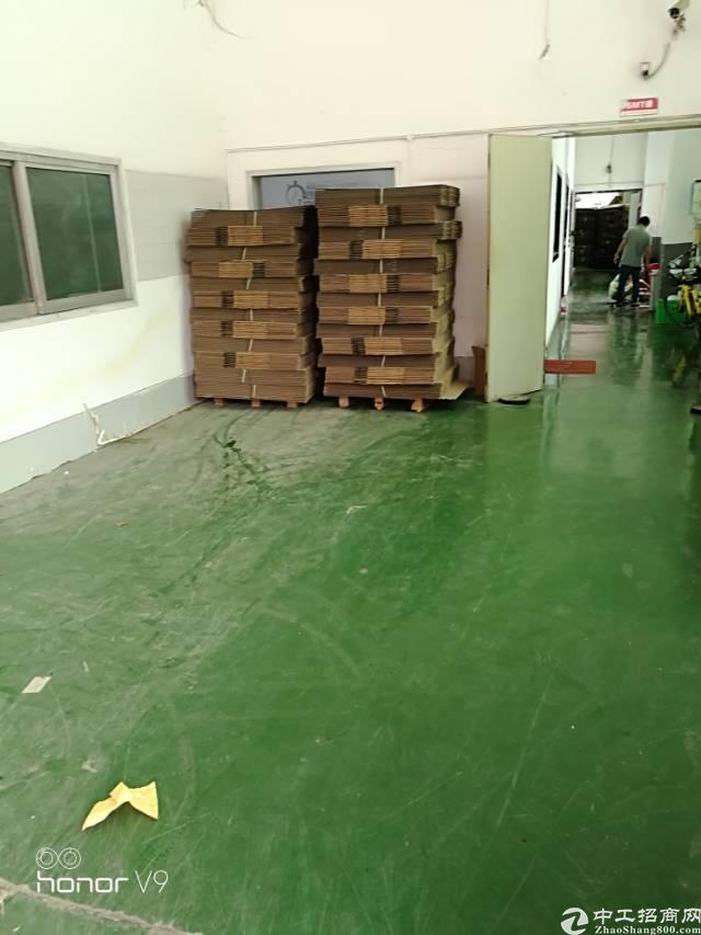 福永和平500平米一楼厂房出租