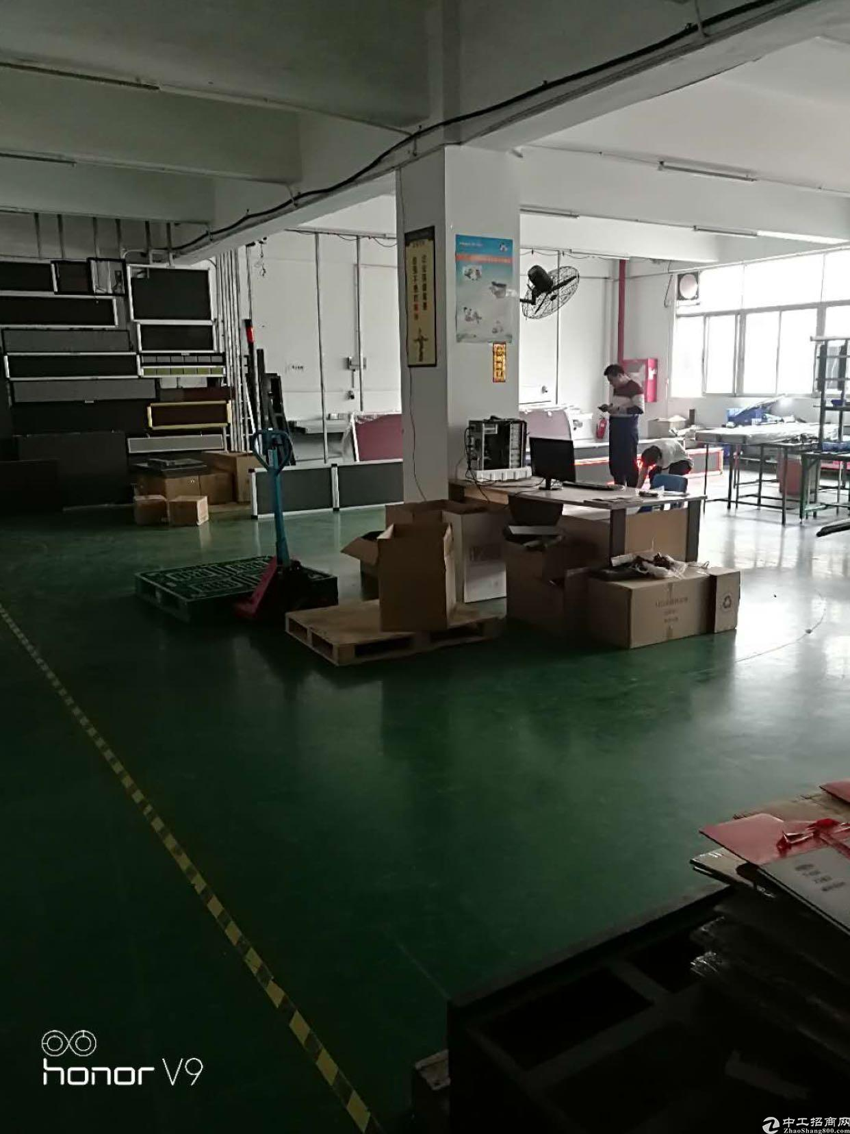 福永桥头楼上600平方带装修的-图3