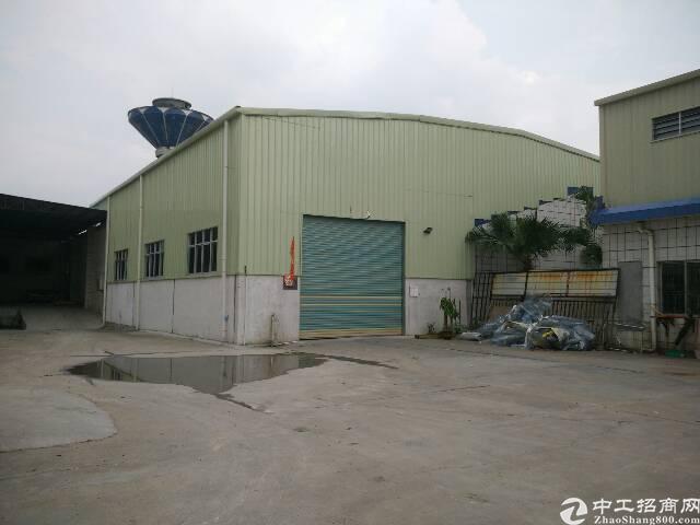 工业区单一层铁皮房招租