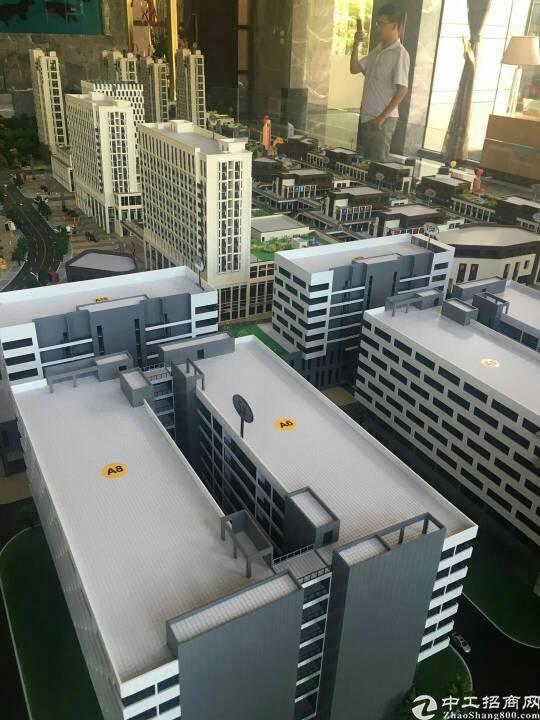 全新双证厂房500平米起售,可按揭,首付五成送公寓