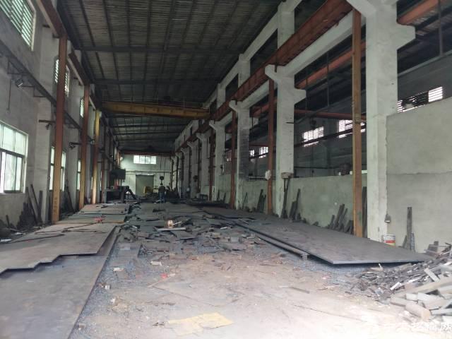 凤岗钢构12米带两部20吨行车厂房招租