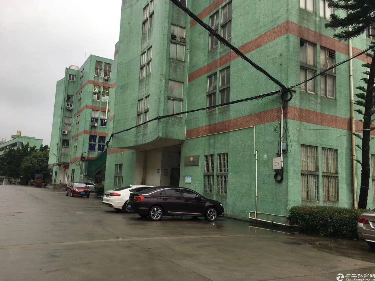 布吉上李朗红本独院厂房4层9200平带装修可分租