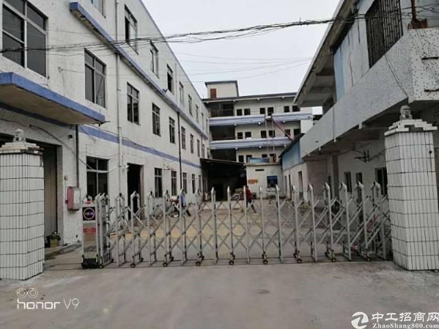 长安上沙街道沙朗区独门独院厂房1-3层3800平方