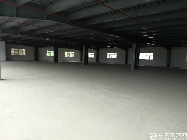樟木头镇石新管理区全新二楼厂房6000平方