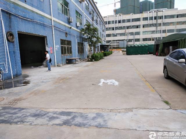 坑梓坪山大道20米处工业园内标准厂房一楼450平米