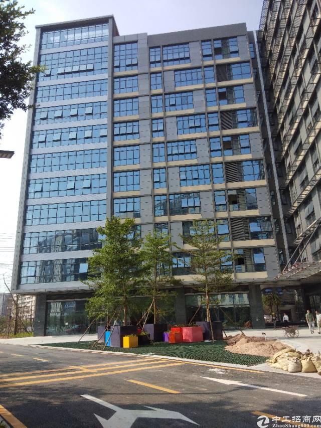 南山西丽花园式精装修甲级写字楼288平方招租