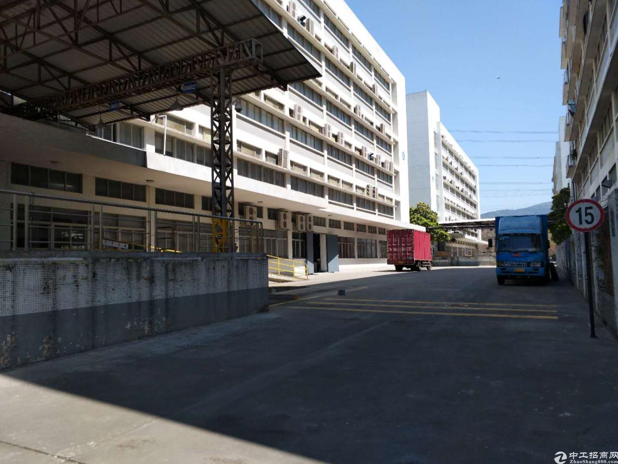 清湖加油站旁一楼仓库5000平带卸货平台,层高6米