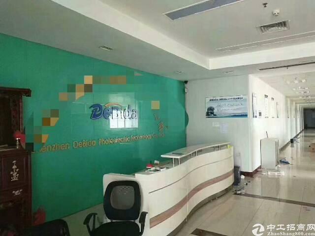 福永国道边上新出楼上800平精装修厂房招租