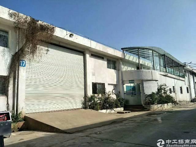 坪山大工业区独栋单一层标准厂房1700平米,滴水6米(如图)-图2