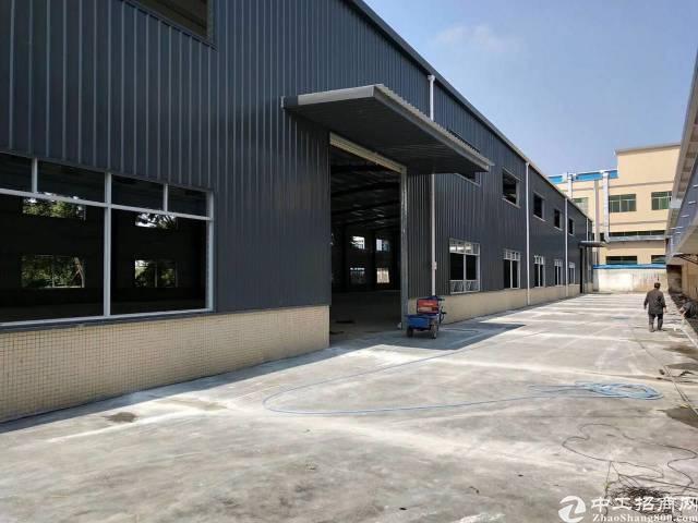 横沥新出原房东独院钢构厂房3500平方