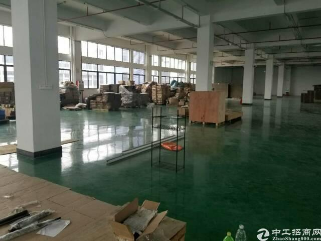 长安镇沙头新出二楼厂房3000平方,无公摊,带豪华装修