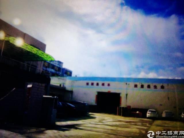 东莞清溪集体证单一层15500平厂房出售