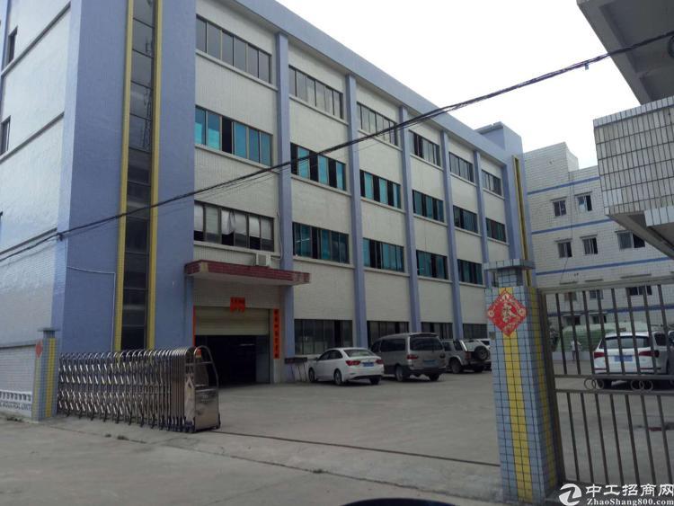 东莞市企石镇一手房东独院标准厂房3000平方出租