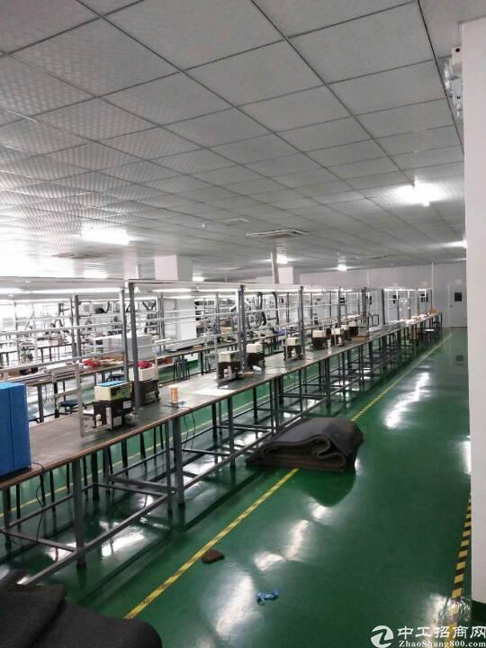 长安镇乌沙新出3楼2500平方厂房,带超级豪华装修