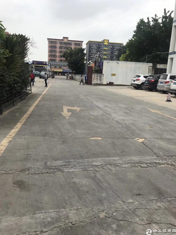 福永一楼1500平厂房出租