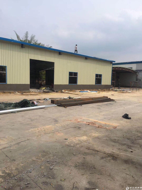 惠阳秋长白石独院钢构厂房总面积6600平