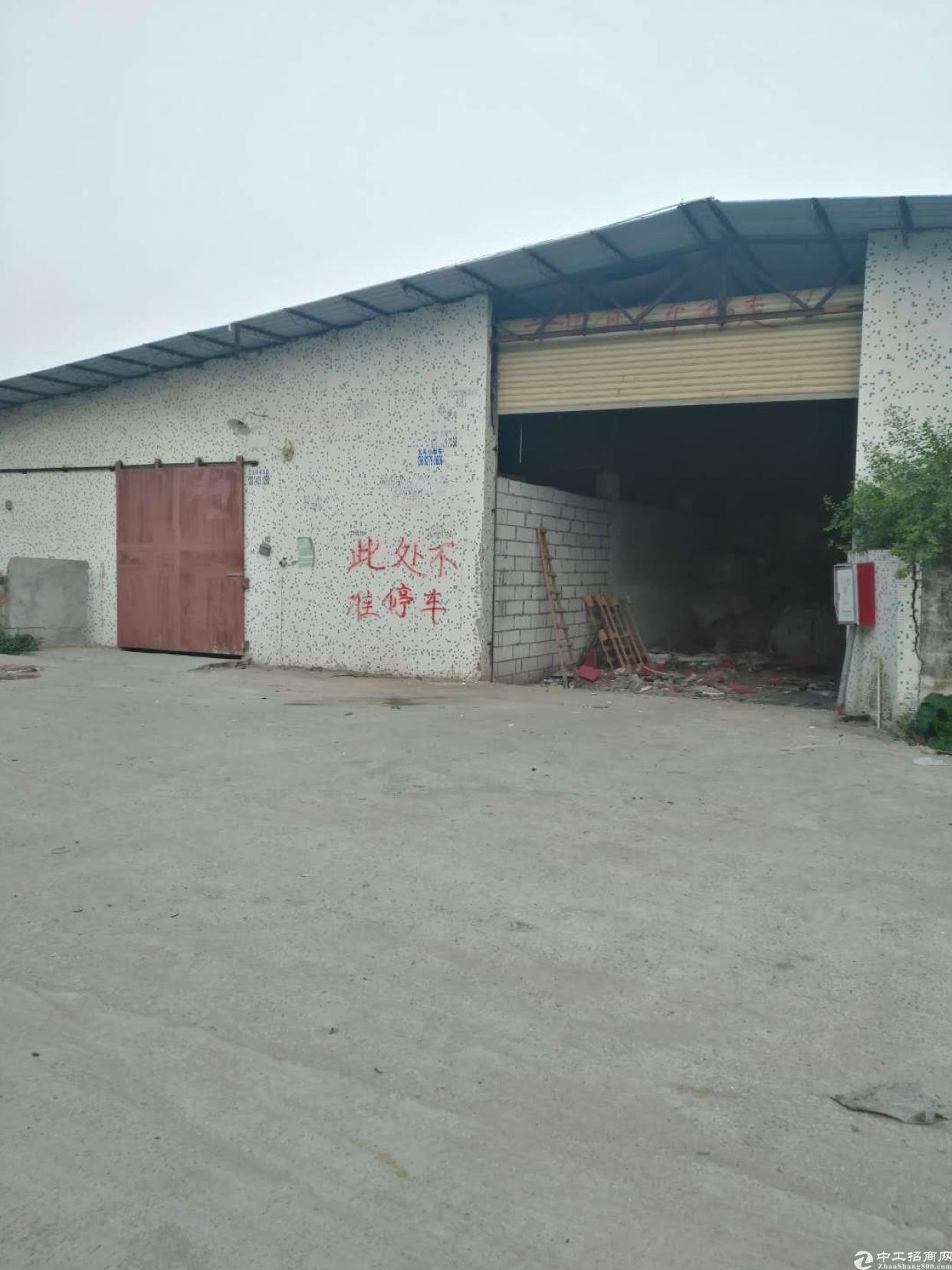 坑梓沙田仓库钢构厂房出租可做轻工业