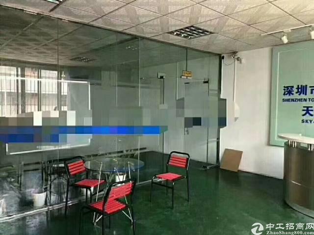 松岗大田洋2楼整层1250平精装修厂房只租15元-图5