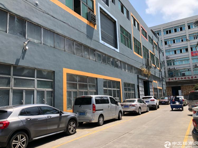 福永塘尾新出1楼4000平米带装修厂房出租