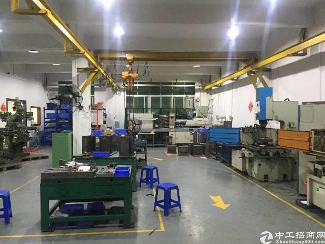 沙井新桥三工业区新出一楼380平方带装修厂房转租