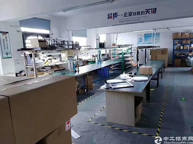 福永稔田500平带装修厂房出租