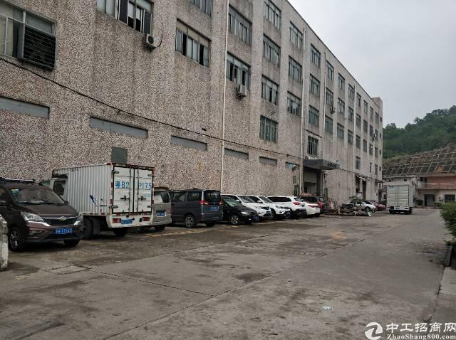 龙岗区丹竹头有大型工业园内空出一楼厂房850平层高5米5