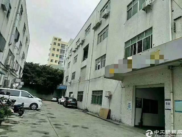 福永新和独门独院带装修厂房1600平方出租