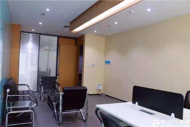 沙井中心区域豪华装修写字楼60-120平