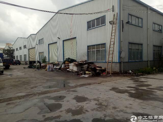 惠阳镇隆国道边钢构2800平米,接受污染行业
