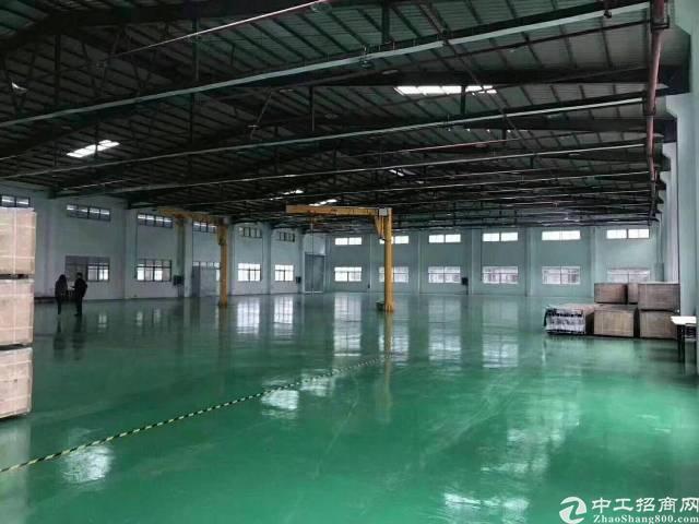 松岗单一层独院厂房16000平方,适合做物流,空地5000平
