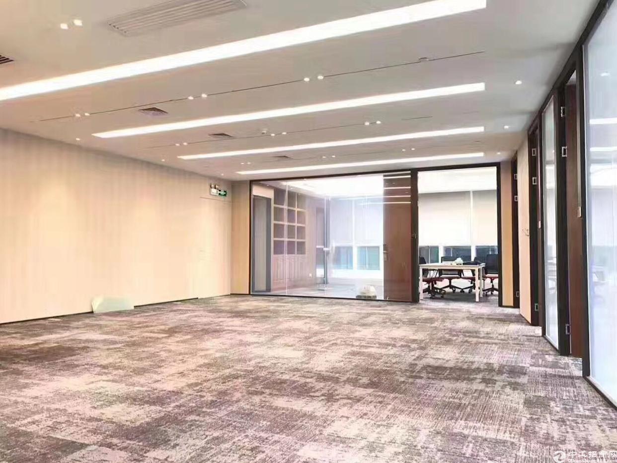 宝安中心甲级写字楼,260精装修双面采光