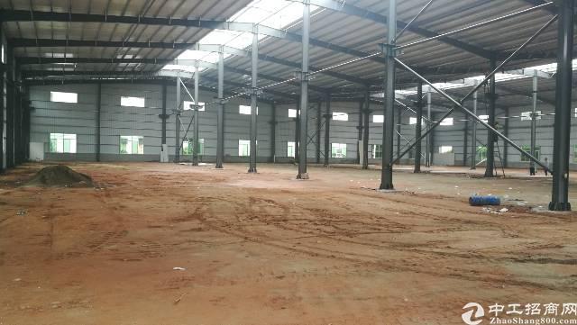 无行业限制滴水10米厂房招租