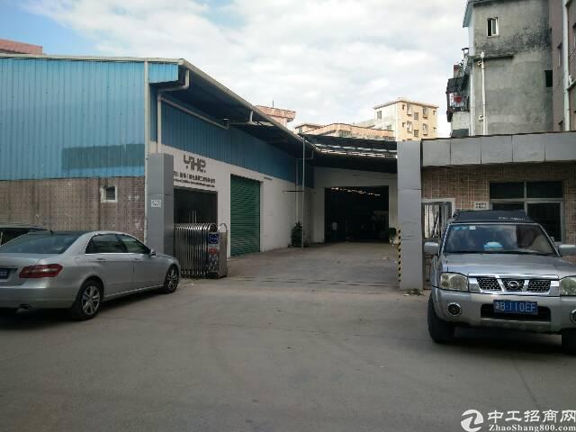 黄江镇靠高速出口可做物流仓库小独院钢构厂房出租
