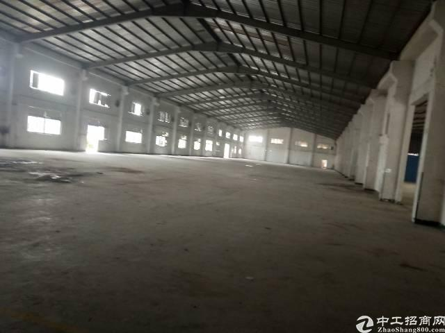 大岭山镇杨屋村新出钢构厂房3000平米出租