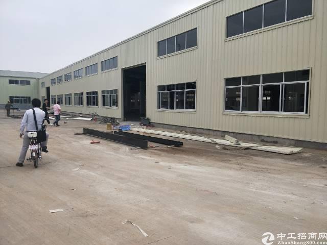 新塘镇全新钢结构厂房出租  1300平方
