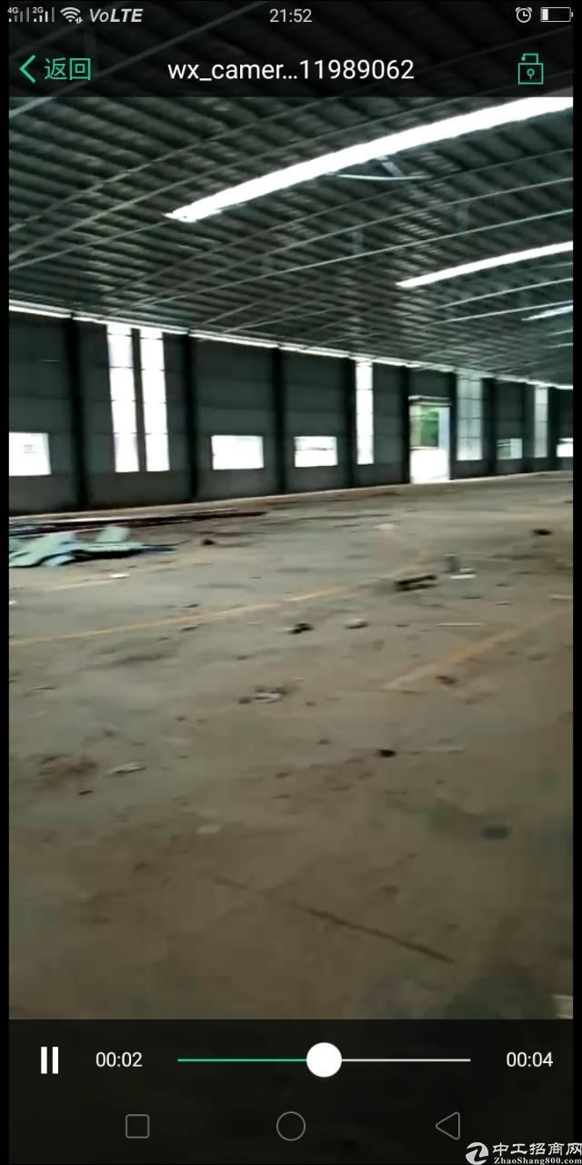 樟木头金河管理区新建钢构8000