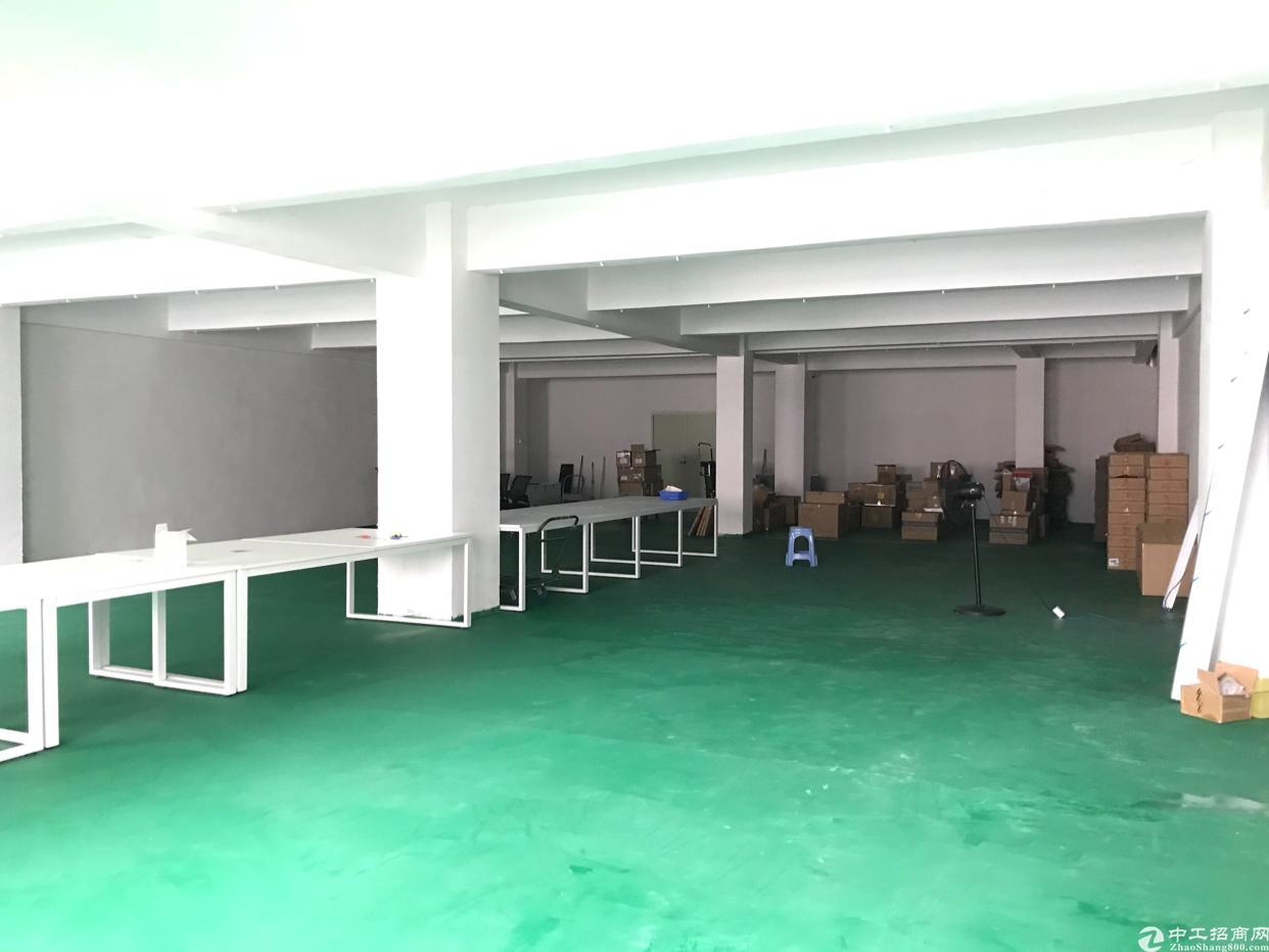 松岗107国道旁新出楼上800平精装修厂房,大小分租-图2