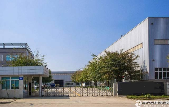 大岭山大型独院厂房出租(单层砖墙2.2万平方)